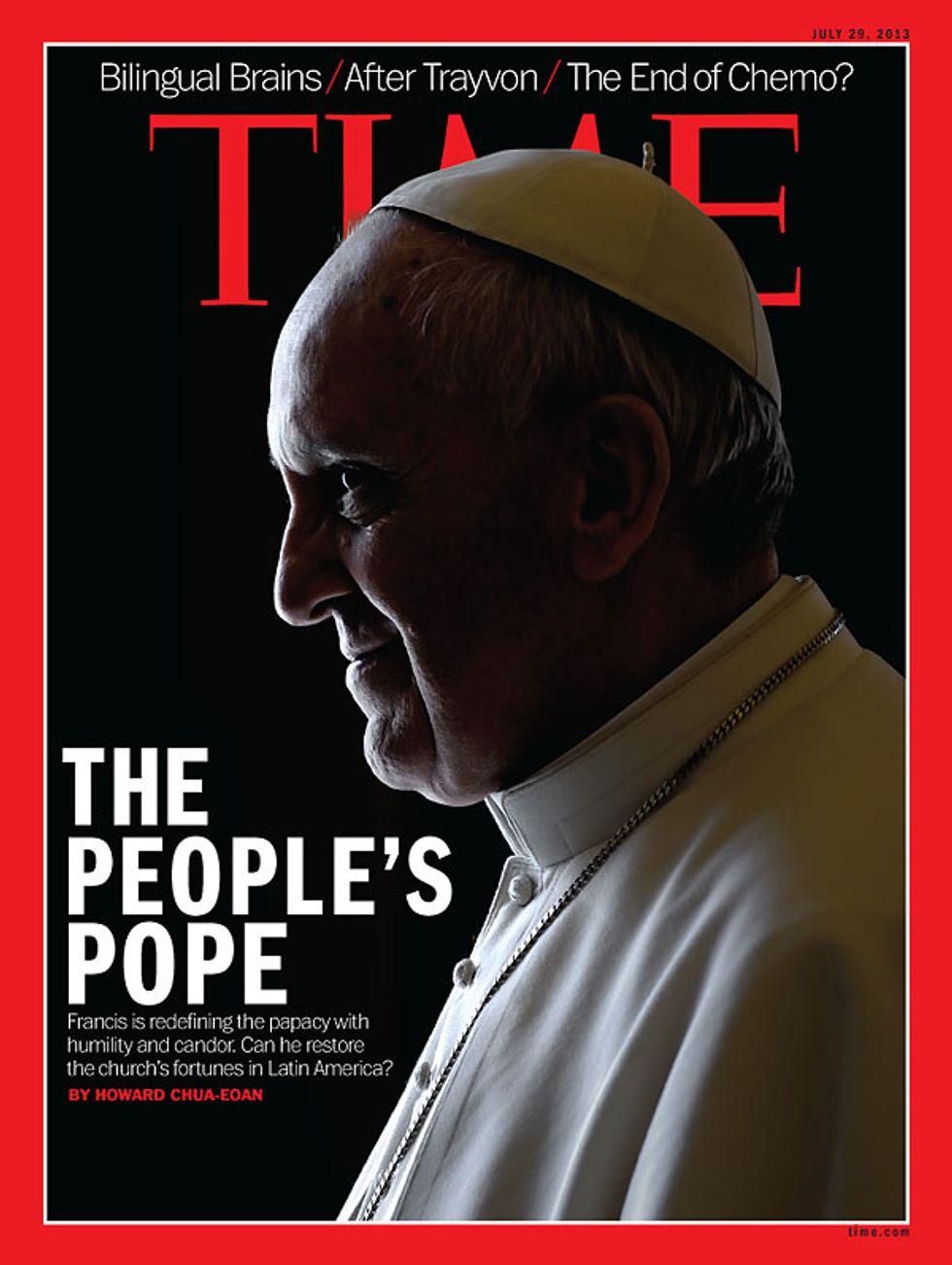 Bergoglio, il Papa della gente