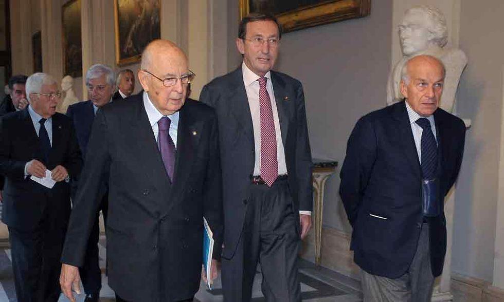 L'assordante silenzio del Pd sulle parole di Napolitano