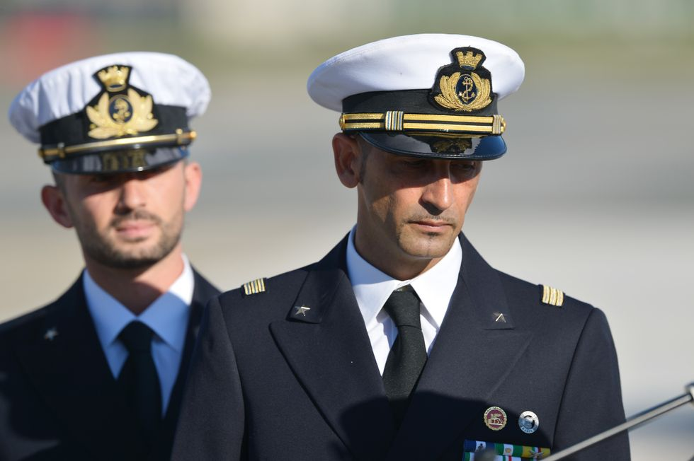 Massimiliano Latorre Salvatore Girone Marò India