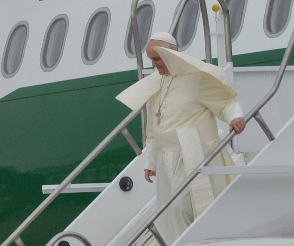 Bergoglio, il Papa che non teme la folla