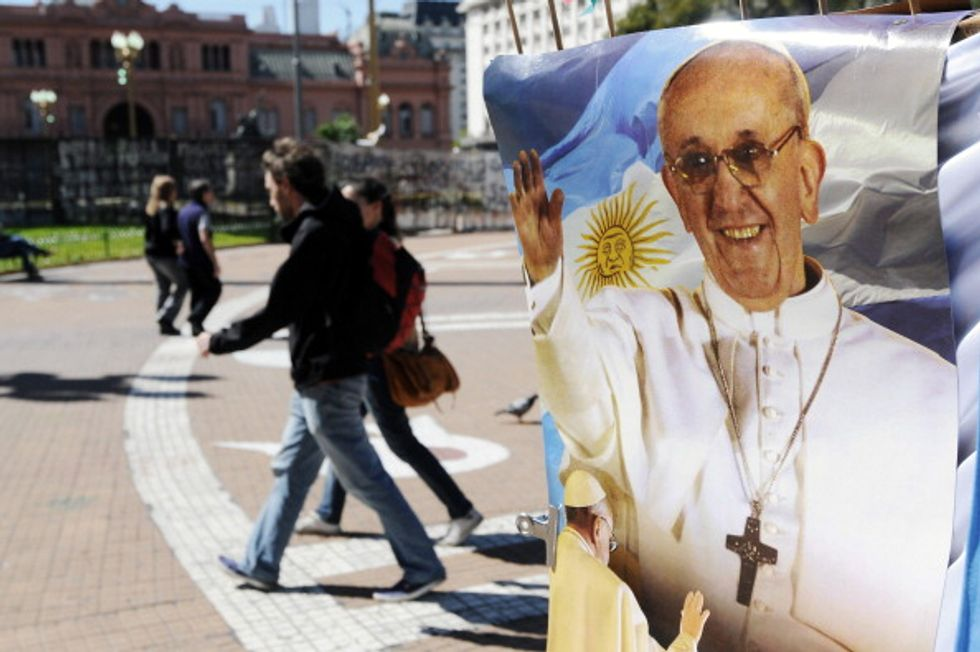 L'eroe dei giovani di oggi? Papa Francesco
