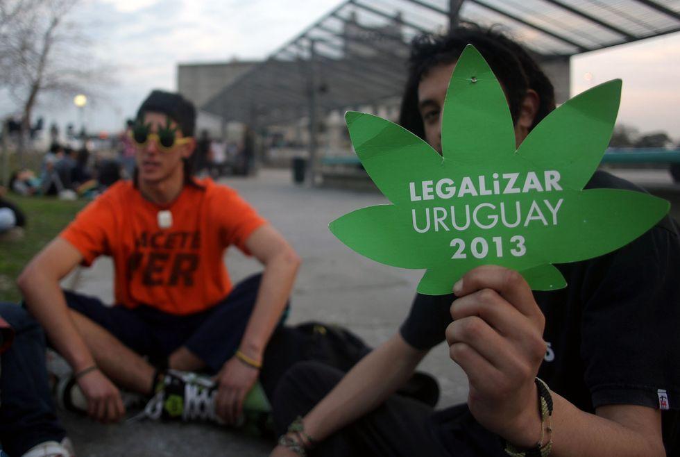 In Uruguay marijuana libera