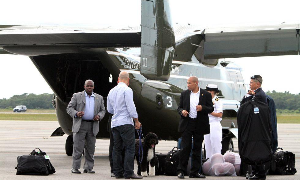 Le costose vacanze di Obama e di Bo, il suo cane