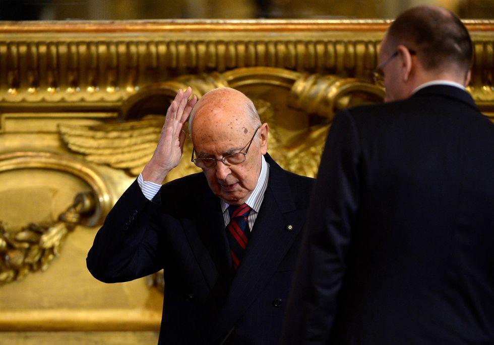 Il Pd tira la giacca a Napolitano