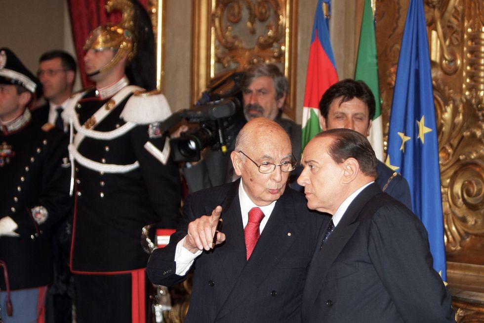La nota di Re Giorgio, il bivio di Berlusconi