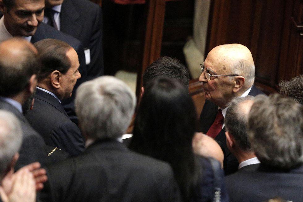 "Napolitano, Berlusconi e le ""sliding doors"""