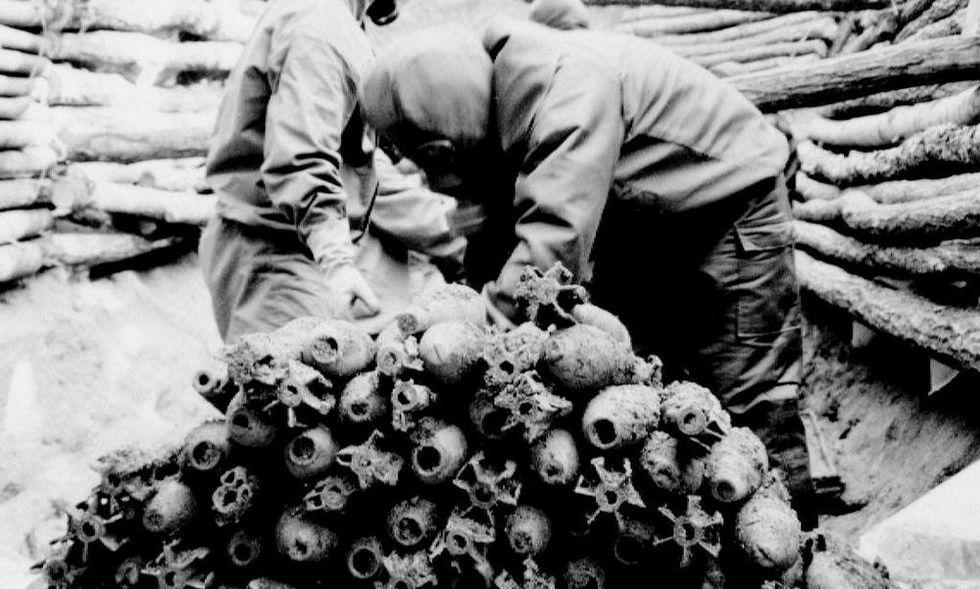 Armi chimiche, un'antica storia di morte