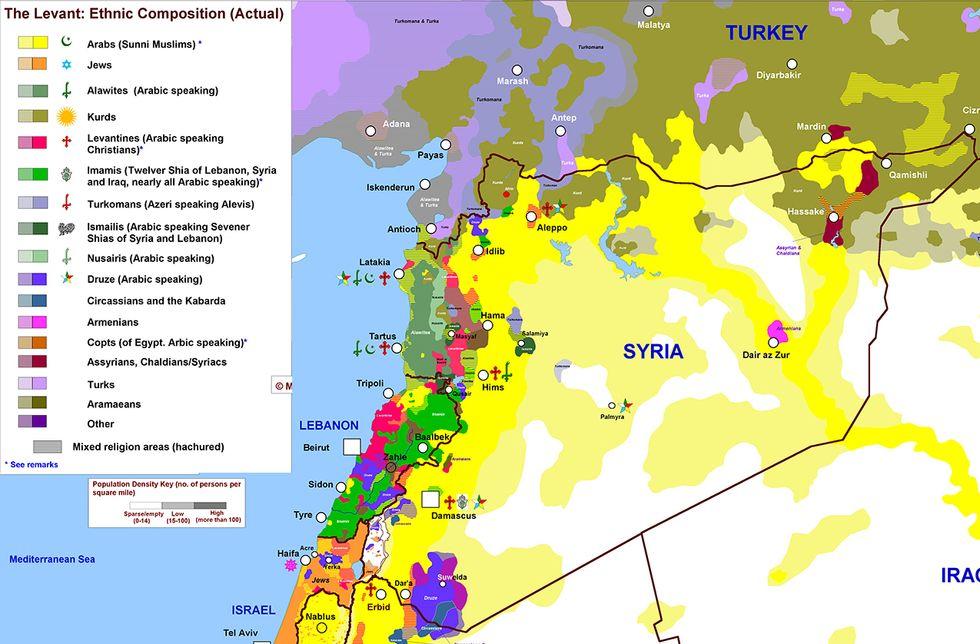 Mille e una Siria