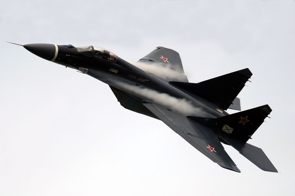 Caccia russi sull'Europa, come ai tempi della Guerra Fredda