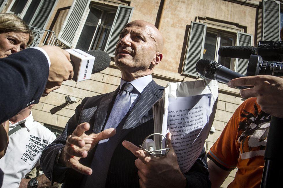 """Minzolini: """"A Berlusconi dirò no: questo Senato serve solo a Renzi"""""""