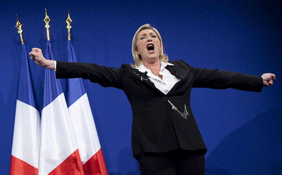 Il flop di Marine Le Pen nell'Europarlamento