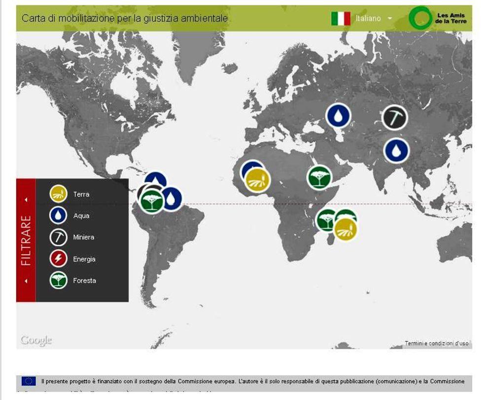 La mappa delle (in)giustizie ambientali