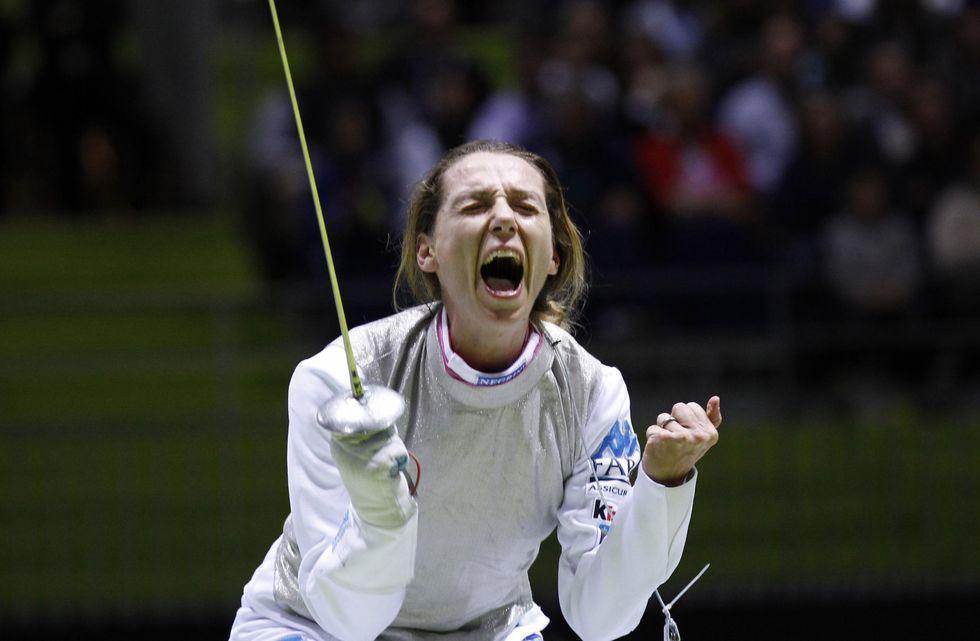Valentina Vezzali alla caccia del quarto oro olimpico nel fioretto