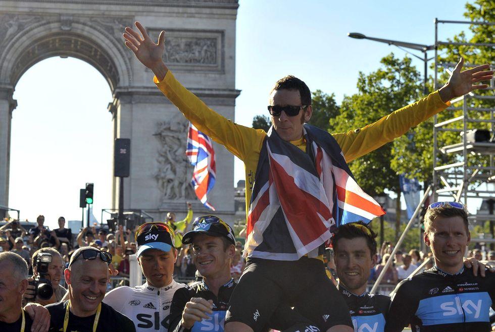 Wiggins, l'inglese Re del Tour