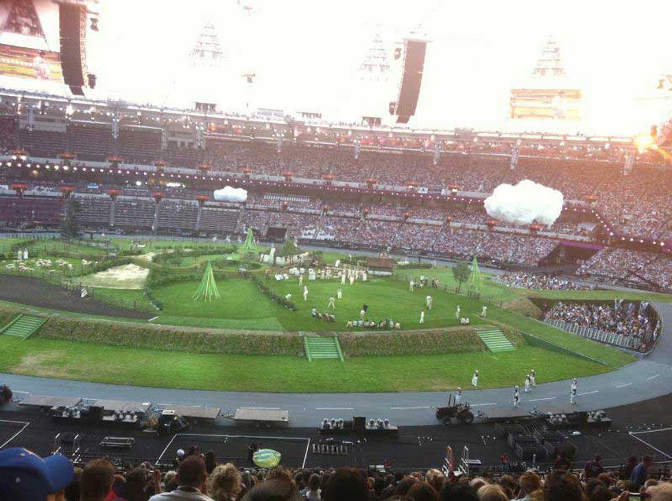 Vi racconto la cerimonia d'apertura delle Olimpiadi