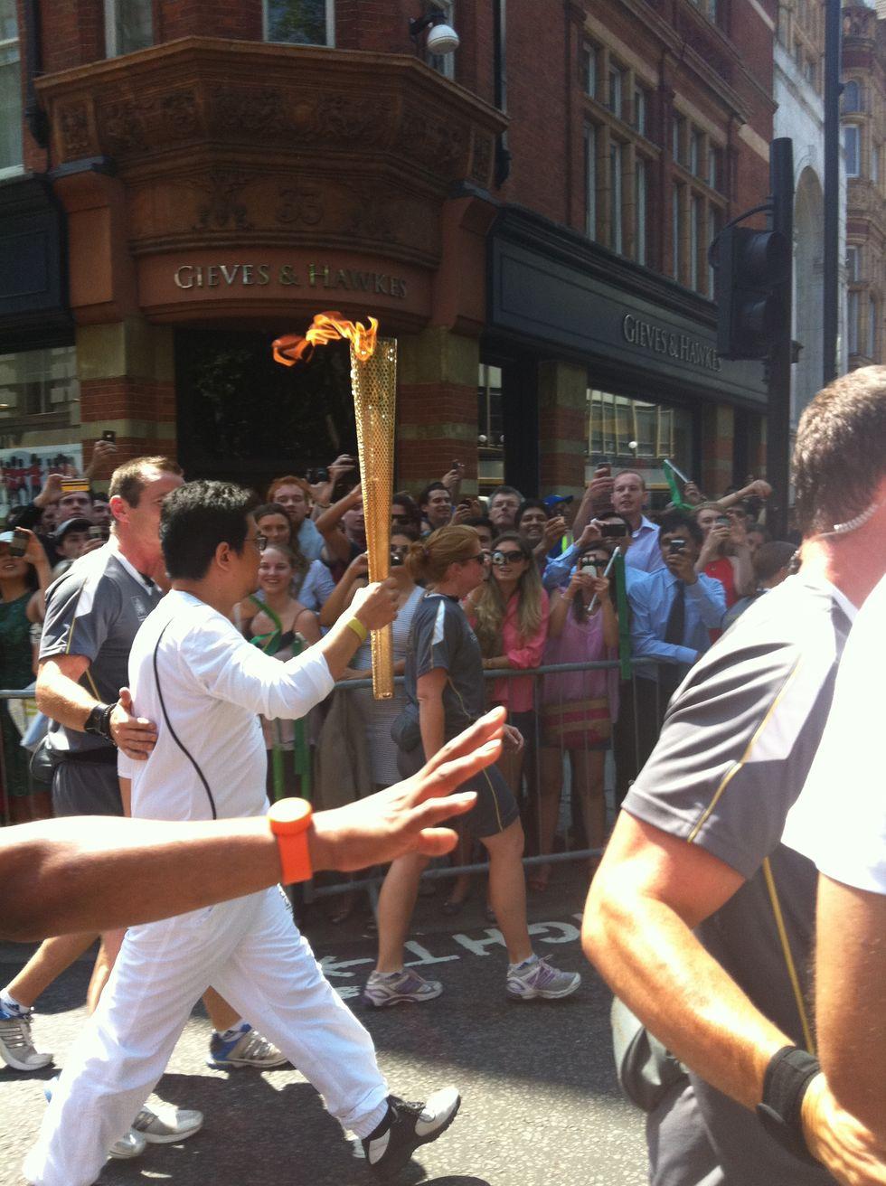 Olimpiadi: Londra, città in festa