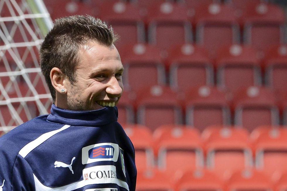 Cassano ha sempre più voglia di Sampdoria