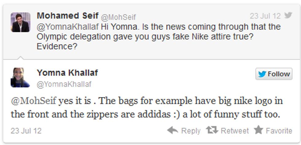 Olimpiadi, gli egiziani e le Nike taroccate