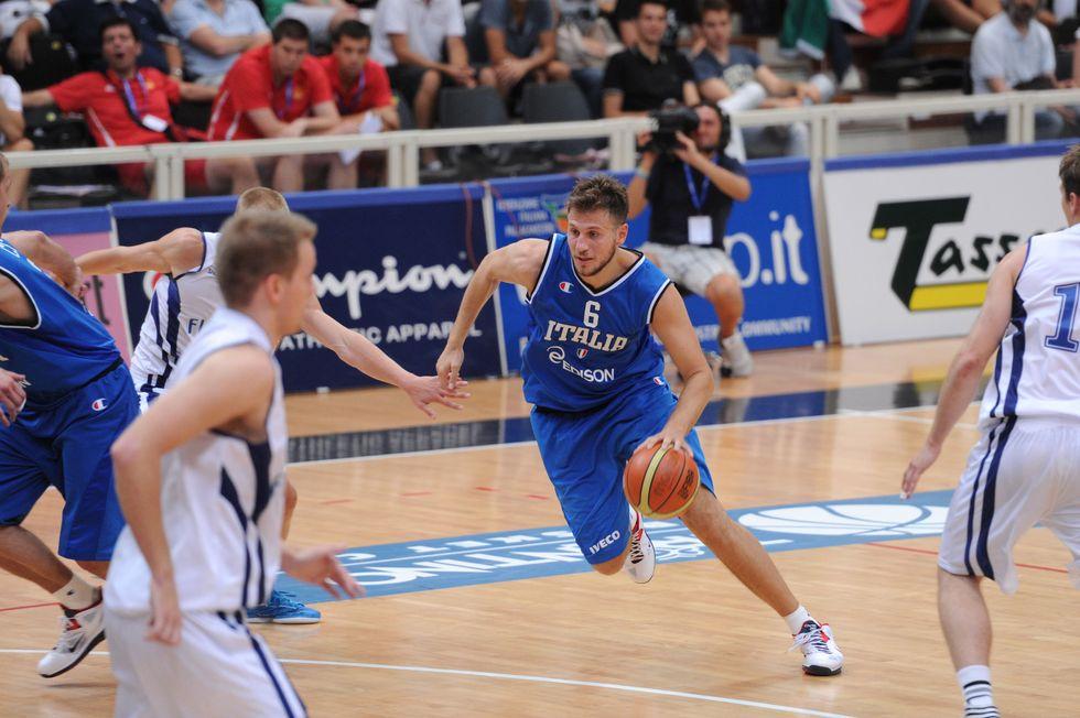Eurobasket 2013:  Stefano Mancinelli, il nuovo capitano, carica gli azzurri