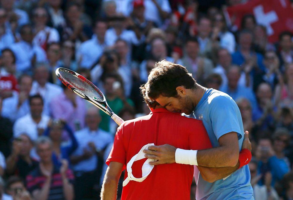 Federer e Del Potro nella storia delle Olimpiadi