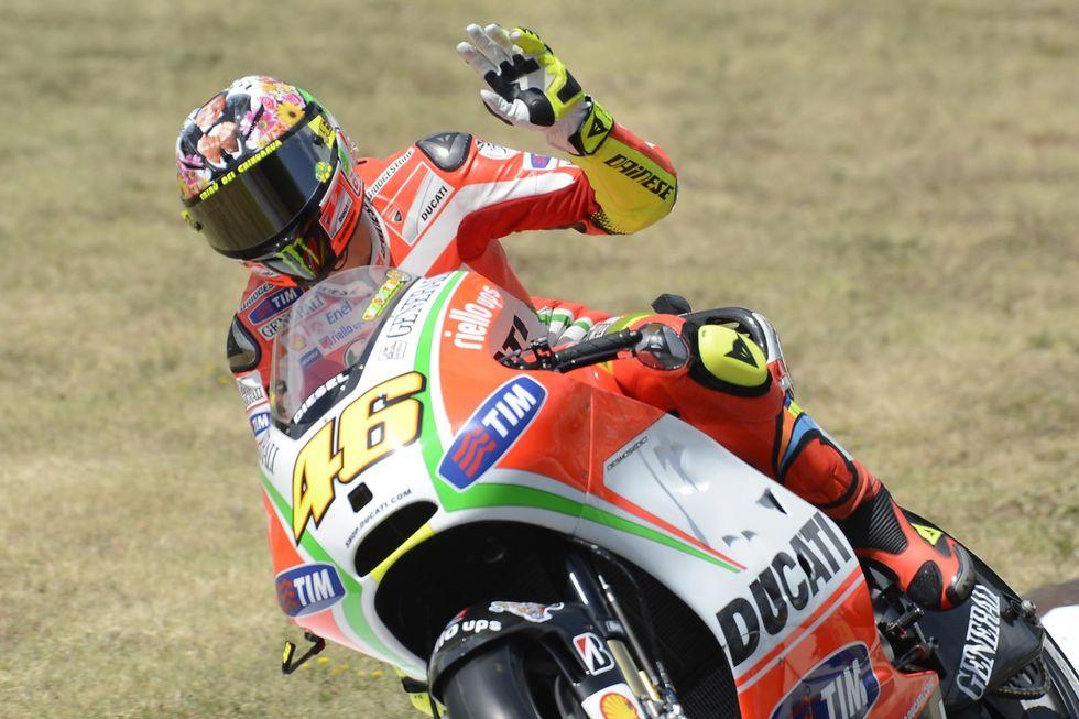 Rossi e la Ducati, fine di un amore