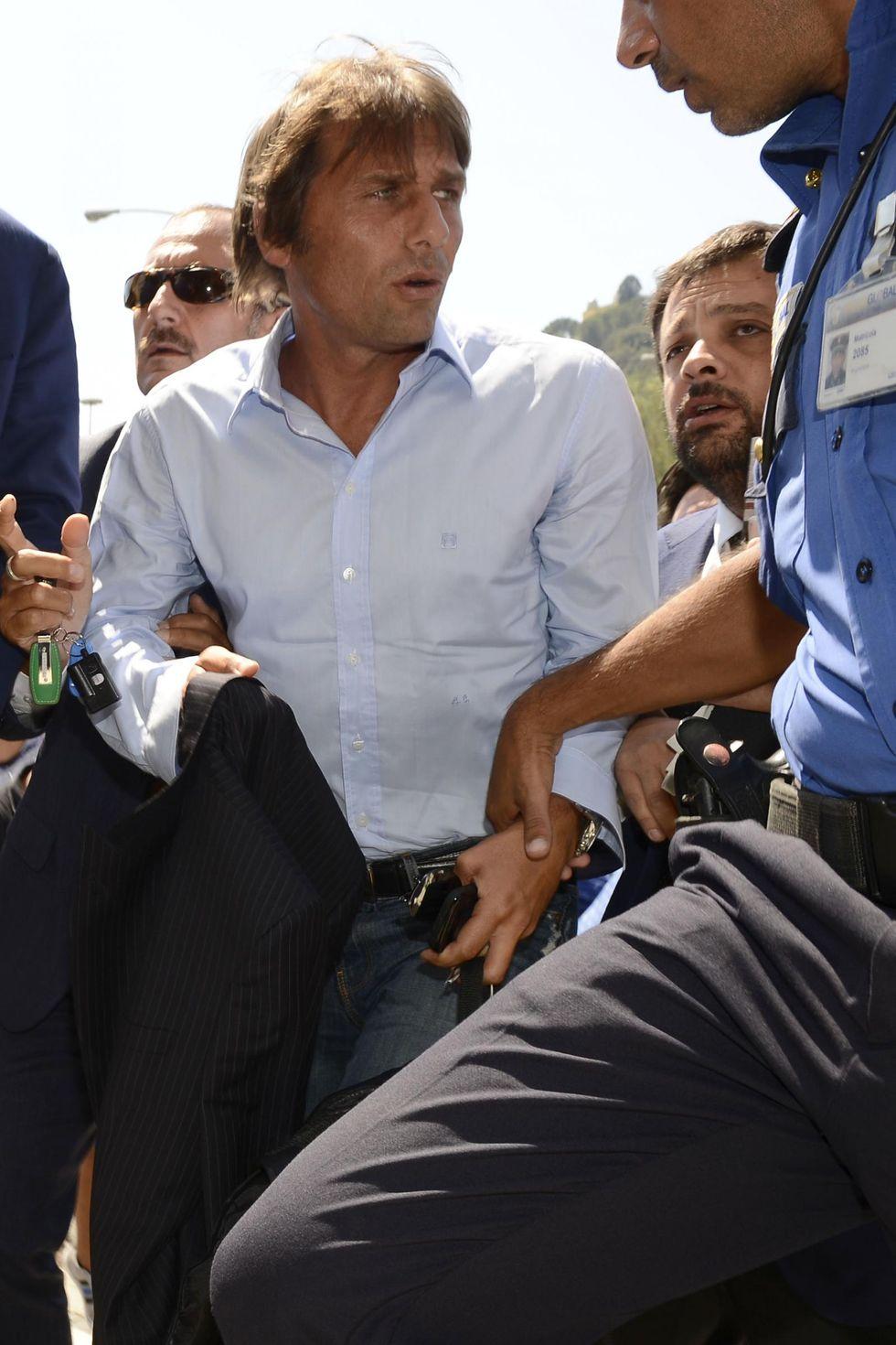 Conte, 10 mesi di stop. Pepe e Bonucci ok. Grosseto salvo