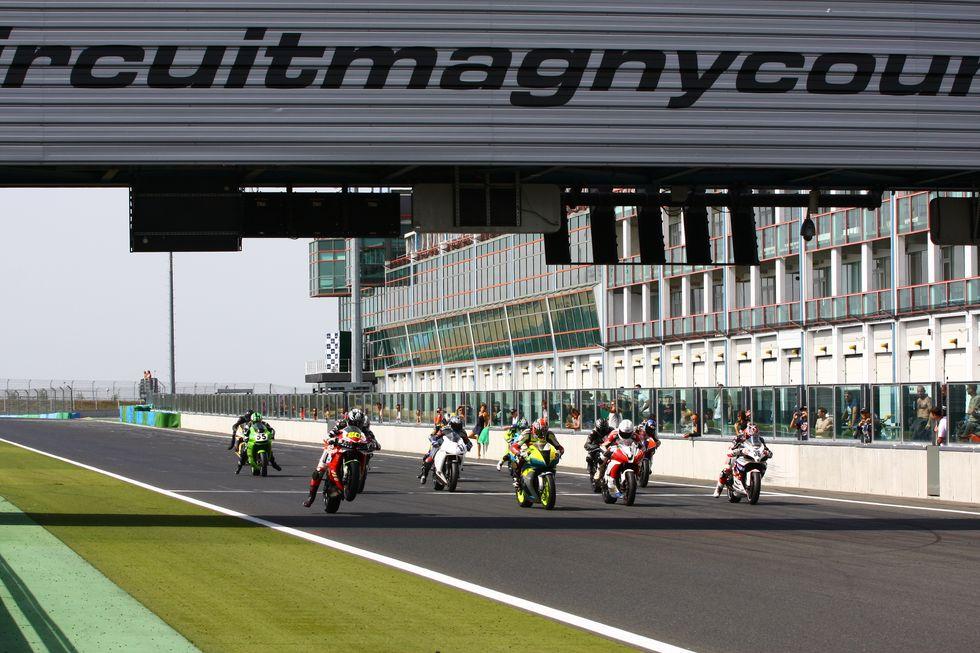 ERC 2012: Italia e Svizzera dominano a Magny Cours
