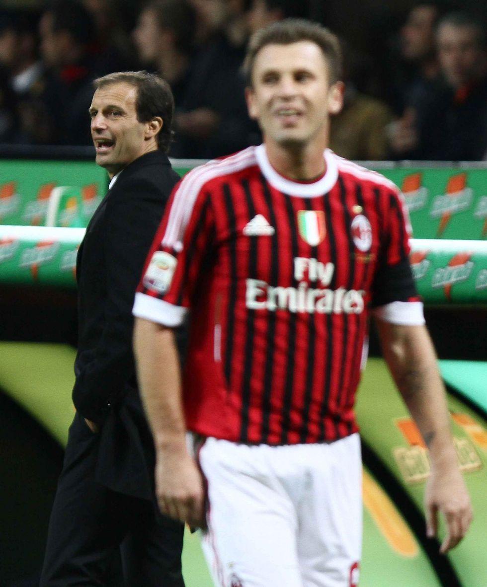 """Allegri scarica Cassano: """"Per ora resta, ma deve fare il professionista"""""""