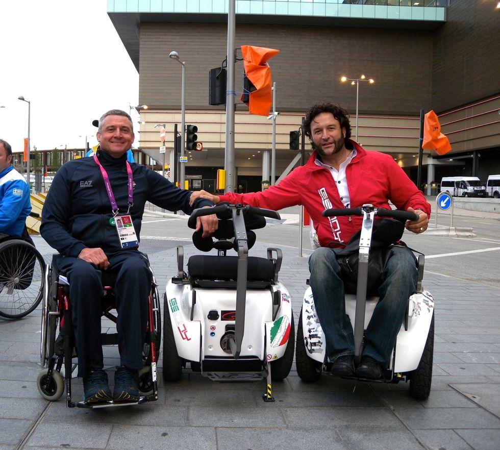 Paolo Badano, l'uomo che ha reinventato la sedia a rotelle