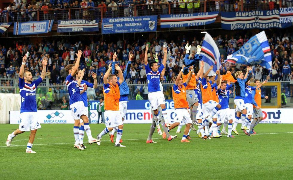 La Sampdoria è tornata, non chiamatela neo promossa