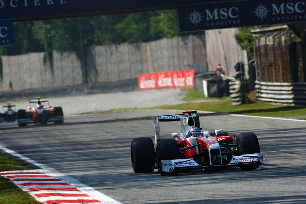 Il GP di Monza secondo Jarno Trulli