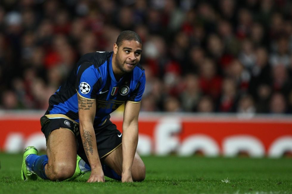 "Adriano: ""All'Inter ho pensato al suicidio"""