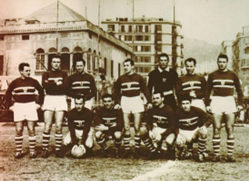 La maglia della Sampdoria: storia di quattro colori magici