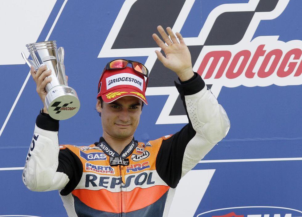 "MotoGP.Vince Pedrosa:""Capisco Stoner"""