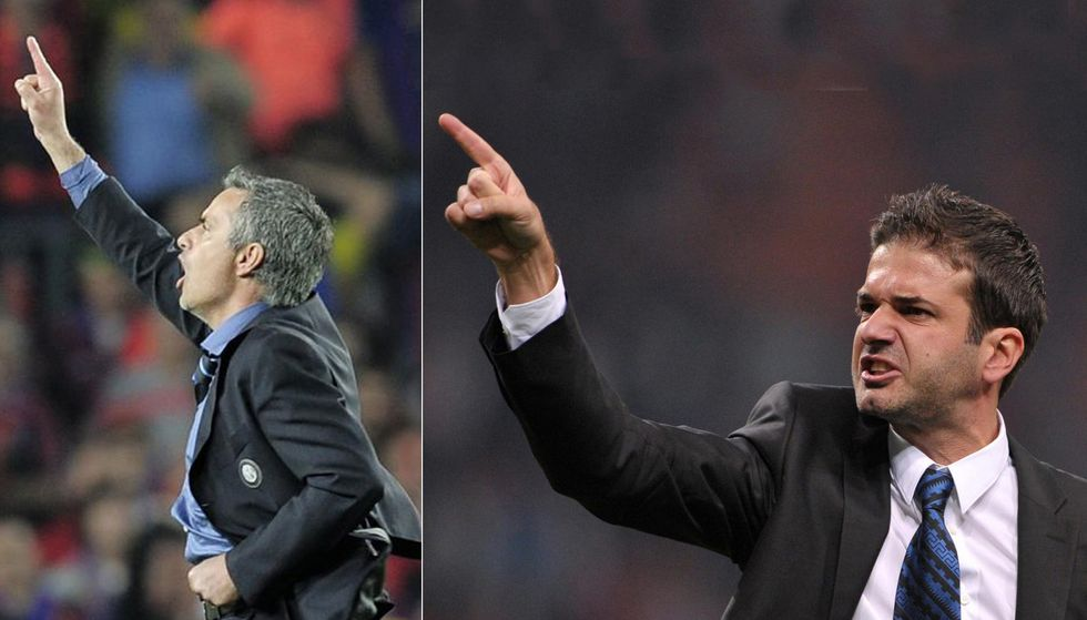 Andrea Stramaccioni e Josè Mourinho, i gemelli diversi