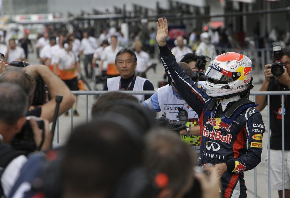 Gp Giappone: dominio Vettel, Alonso fuori