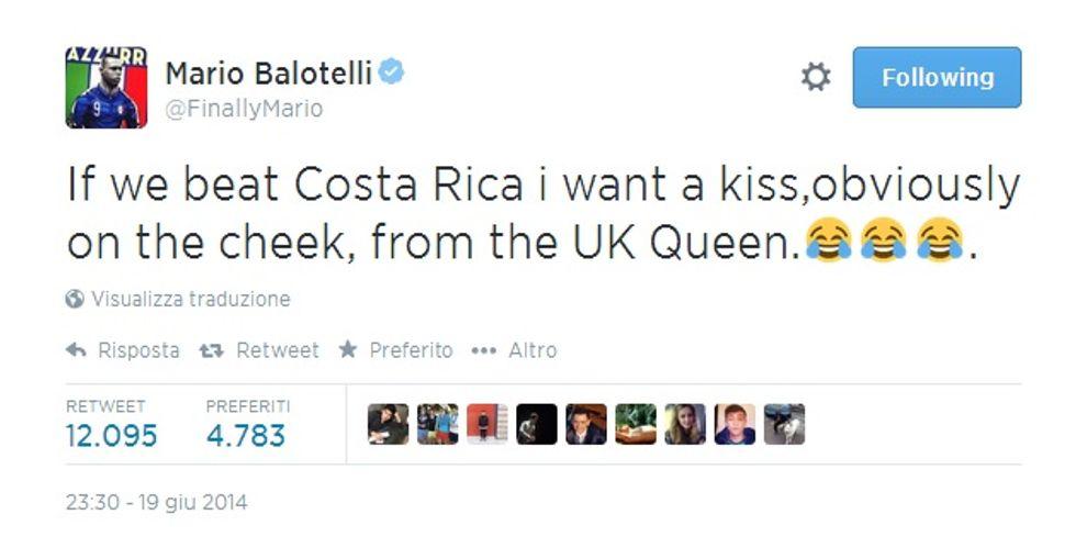 """Il nuovo Balotelli: """"Voglio vincere il Mondiale"""""""