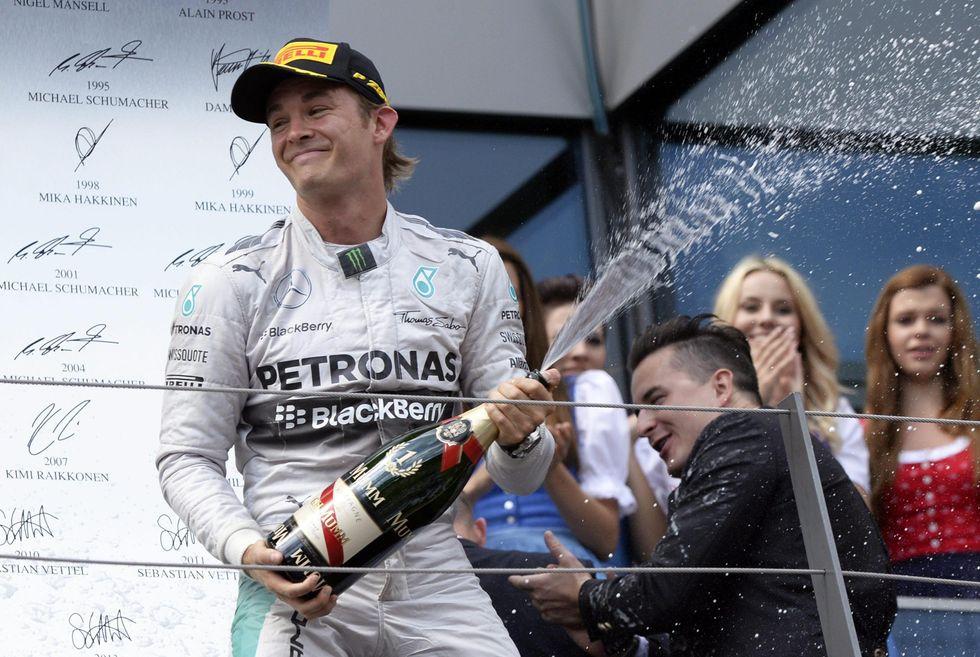 F1, la riscossa dei numeri 2