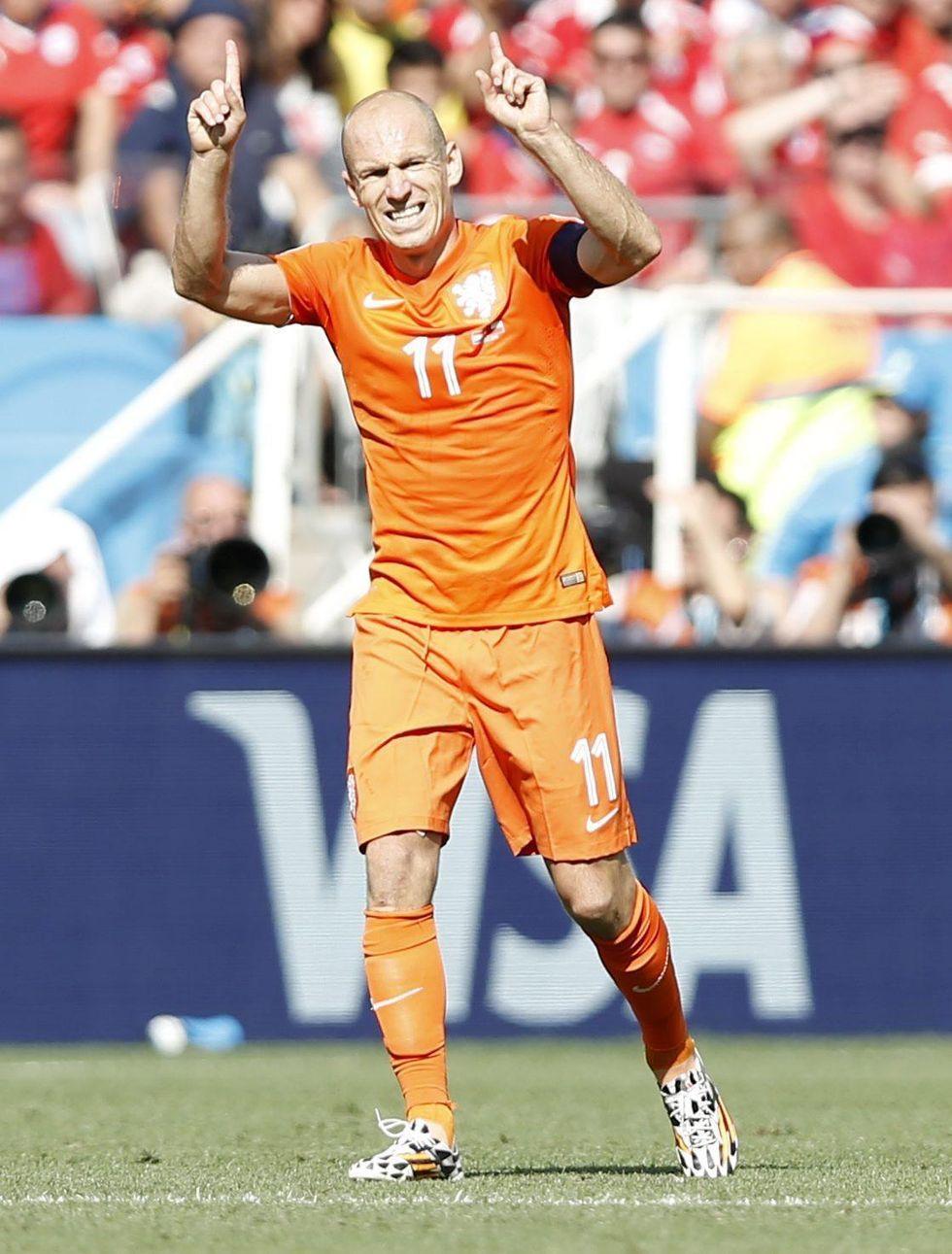 Tris Olanda, Cile battuto. Spagna, dolce addio