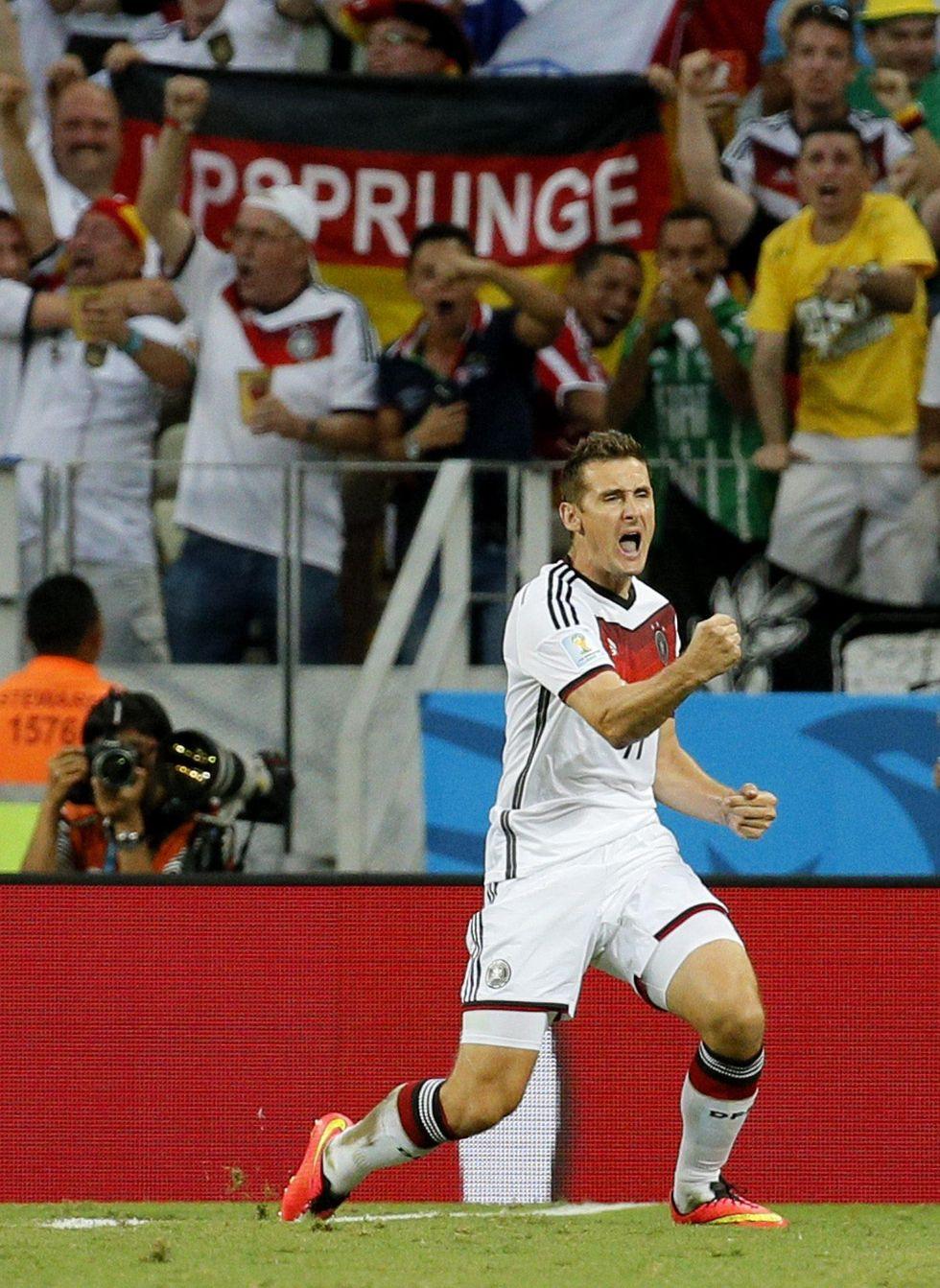 Klose nella leggenda: record di gol come Ronaldo