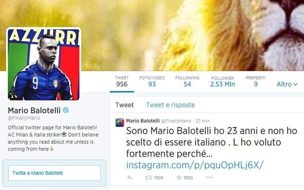 """""""Caro Balotelli, ti scrivo anch'io..."""""""
