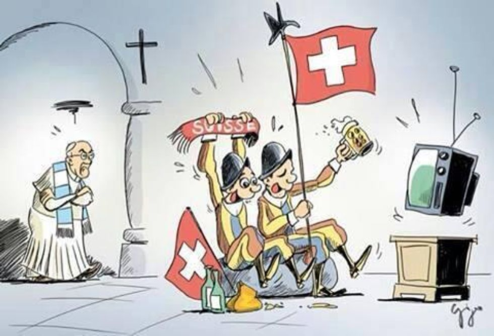 Argentina - Svizzera, papa Francesco contro le sue guardie