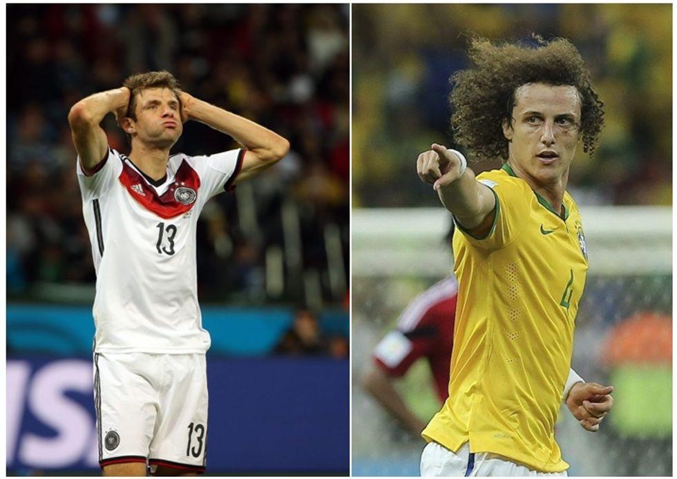 Brasile-Germania: la guerra dei mondi