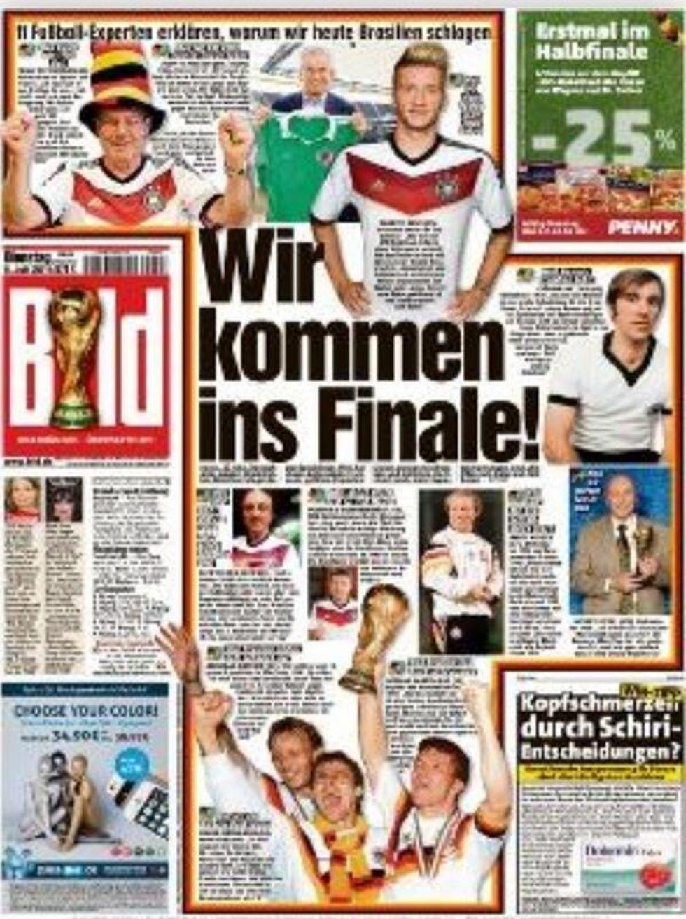 I tedeschi si vedono in finale. E dimenticano la scaramanzia...