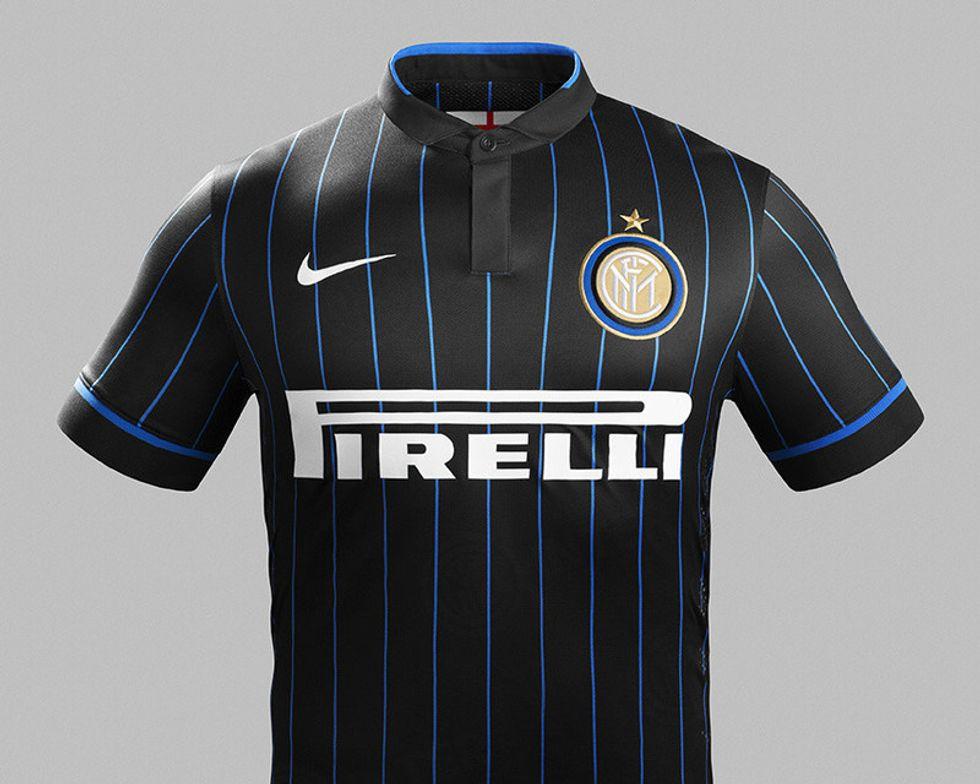 La nuova maglia dell'Inter firmata Nike