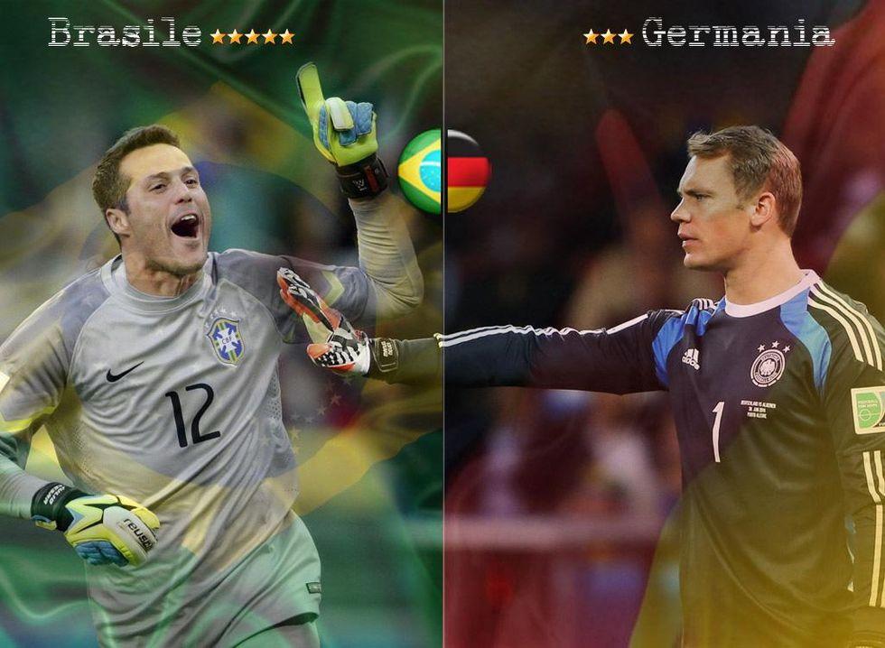 Brasile-Germania, la diretta via Twitter