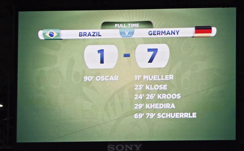 Germania show: Brasile, resa umiliante!