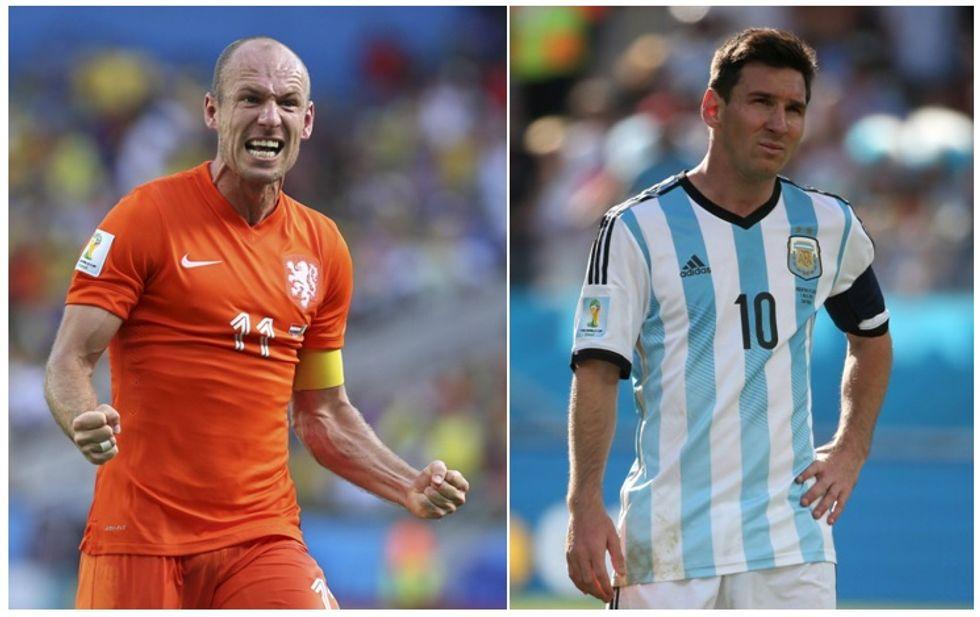 Olanda e Argentina, la storia chiama