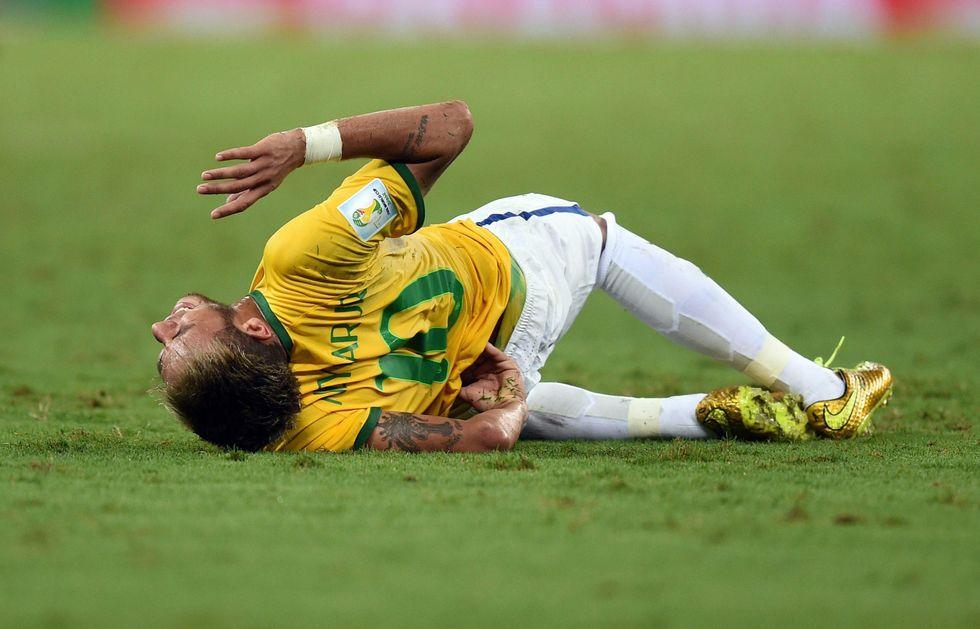 Neymar-choc: Mondiale finito