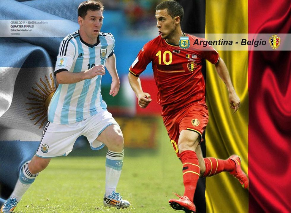 Argentina-Belgio, la rivincita 28 anni dopo Diego